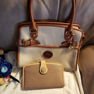 Dooney and Bourke handbag and wallet